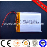 3.7V 900mAh Rechargeable Lithium/Lipo Battery voor Digital Product 603443