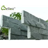 Factory Manuifacture Natural High Quality Green Slate Ledge Stone