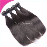 Соткать черных волос девственницы 100% Монголии людской естественный прямой