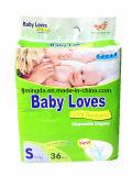 Het Hete Verkopen van de Luier van de Baby van Babylove in de MEDIO Markt van het Oosten