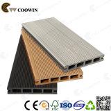 Decking composto plástico de madeira da alta qualidade de Qingdao (WPC) Coowin