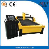 Máquina de estaca do plasma Acut-1530 com o controlador da altura da tocha/cortador do plasma