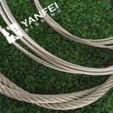 corda del filo di acciaio di 1770MPa Ungalvanized