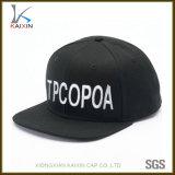 Progettare il vostro proprio commercio all'ingrosso per il cliente del cappello/protezione di Snapback del ricamo 3D