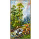 Décoration de haute qualité de l'huile de gros de peinture, de belles Pine Tree Huile sur toile