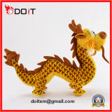Golden Dragon recheadas Peluche Dragon Animal recheadas