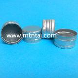 Casquillos de aluminio de 28 mm con revestimiento de caucho butílico