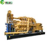 méthane 200kw, groupe électrogène de biomasse de gaz de Biogasnatural avec refroidi à l'eau et PCCE