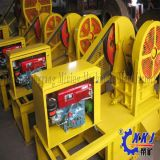 Energie - Maalmachine van de Kaak van de Dieselmotor van de besparing de Kleine Mini voor Verkoop