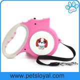 Factory Pet Supply Product LED Retractable Pet Lead Dog Leash