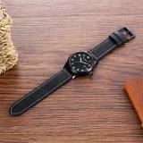 Покрашенная чернота IP Ssbuckle случая Wristwatch 43mm способа Unisex