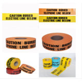 交通安全の警告テープ、黄色い注意テープ