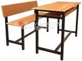 Mobiliario Escolar estudiante doble mesa con sillas