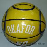 Баскетбол логоса OEM хорошим подгонянный ценой