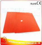 calentador Heated 110/220V del caucho de silicón de la base de la impresora 3D de 500*500*1.5m m
