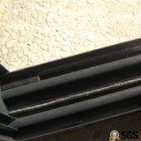 Ventana de desplazamiento de aluminio del bloqueo crescent revestido del polvo de la buena calidad K01118