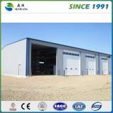 Edificio galvanizado metal prefabricado industrial de la estructura de acero