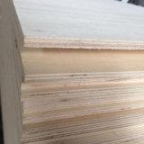 Madera contrachapada del embalaje de la chapa del álamo para la paleta del embalaje de los muebles (8X1220X2440m m)