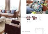 アメリカの家具のコーナーファブリックソファーセット