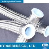 Hyrubbers fabricante Venta al por mayor de acero trenzado Teflon manguera con PTFE tubo
