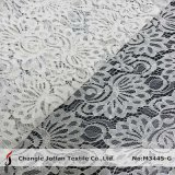 Textile Tricot Lace Fabric Wholesale (M3445-G)