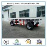Tri-Welle Traktor-Schlussteil-Flachbettbehälter-halb Schlussteil von der Fertigung