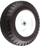 410/350-6 воды шаблон кривой PU вспененный Wheelbarrow колеса