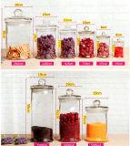 supporti di candela personalizzati vaso di vetro del vaso della candela di marchio del tè 150ml-7500ml