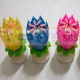 Sgs-anerkannte Öffnungs-Blumen-Kerze