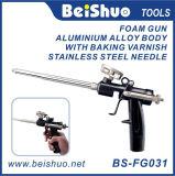 Pistola de calafateo de tubo de aluminio de alto voltaje