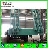 De zware Aanhangwagen van het Bed van het Vervoer van de Apparatuur Lage in Quatar