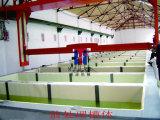 Las secciones de extrusión de aluminio de la línea de revestimiento en polvo