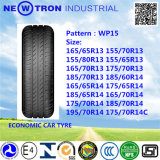 WP15 155 / 70R13 neumáticos de vehículos de pasajeros chinos, Neumáticos de PCR
