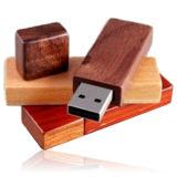 Bambu madeira Stick USB (KH W006)