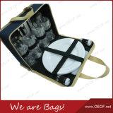 4 Лицо полиэстер складной Пикник Dishware сумка для поездок