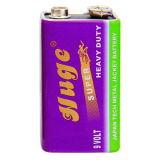 batterie lourde superbe de batterie de 9V 6f22