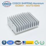 Neuer Entwurfs-Aluminiumstrangpresßling für Kühlkörper mit der Anodisierung u. DER CNC maschinellen Bearbeitung