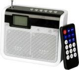Altoparlante portatile con FM e la funzione del lettore di schede (JNP-SC-Q03)