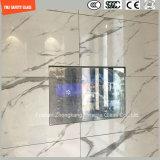 glace r3fléchissante de sûreté de 4-19mm pour la porte, appareil électrique, douche, architecture, mur rideau en verre, glace de construction