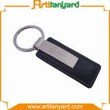 Keychain di cuoio superiore promozionale