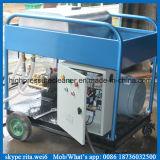 500bar 전기 페인트 세탁기술자 고압 물 모래 폭파 기계
