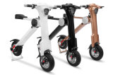3 K-Stile della rotella di colori due che piega i motorini elettrici per gli adulti