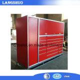 Os gabinetes de ferramenta do armazenamento do metal/caixa de ferramentas industriais usados da garagem parte o gabinete