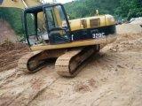 Excavador usado de la condición 320c de los plenos poderes de la oruga Niza