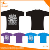 Premier T-shirt d'impression de sublimation de Digitals d'usure de gymnastique de vente de Healong