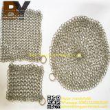 Pulitore della posta Chain dell'acciaio inossidabile dello Skillet della vaschetta del ghisa