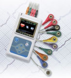 Holter ECG Sistema (CE y certificado de la FDA)