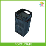 Прозрачный Refillable мешок пакета льда охладителя вина PVC пластмассы