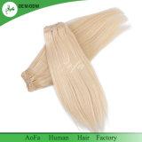 Оптовые человеческие волосы блондинкы изготовления 100% Unprocessed Remy волос