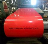 A cor de Dx51d Z30-Z60 0.15mm-2.0mm revestiu telhadura ondulada a fábrica de aço galvanizada Prepainted da folha da bobina